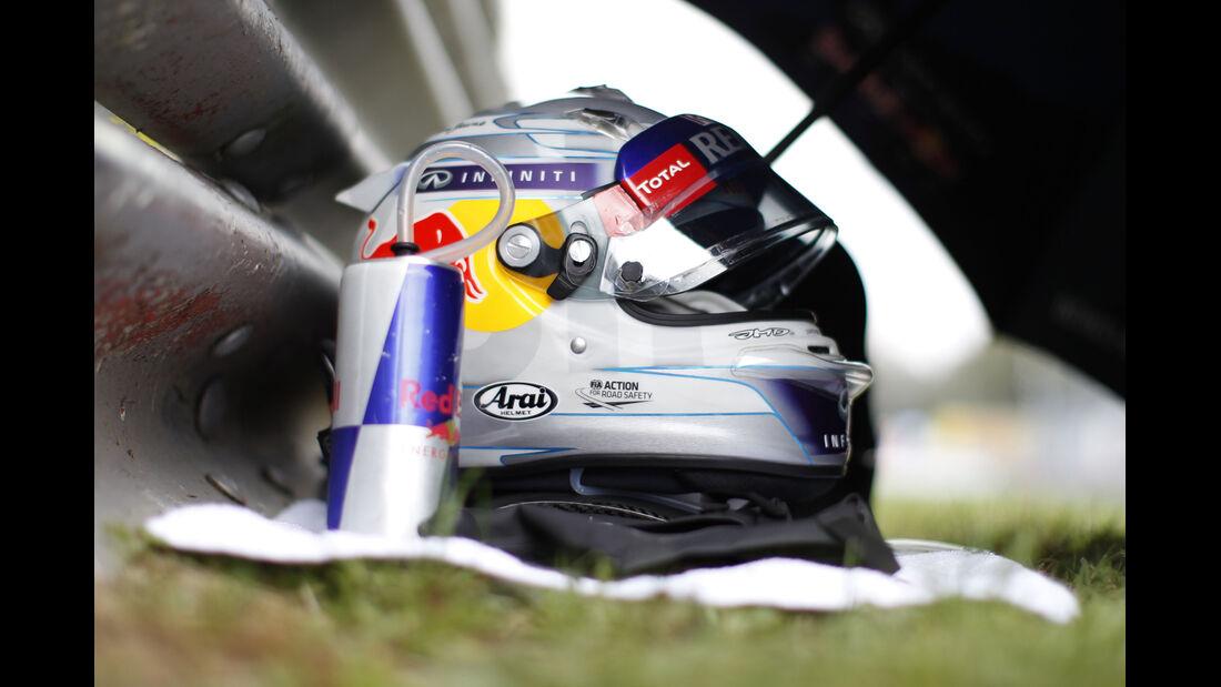 Vettel-Helm - GP Italien 2013