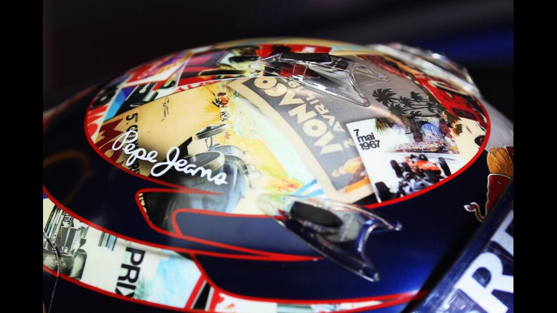 Vettel Helm GP Monaco 2011