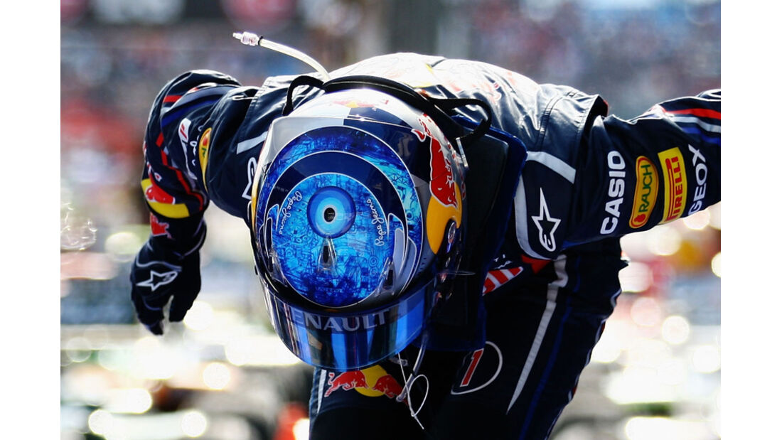 Vettel Helm GP Türkei 2011