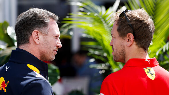 Vettel & Horner - F1 - 2019