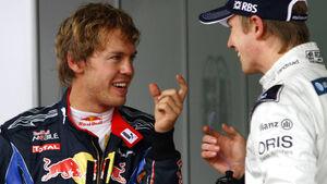 Vettel Hülkenberg