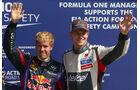 Vettel & Hülkenberg - Formel 1 - GP Italien - 7. September 2013