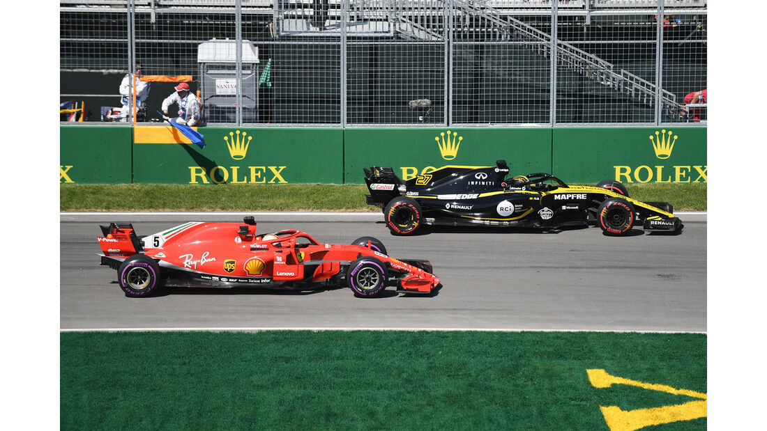 Vettel & Hülkenberg - Formel 1 - GP Kanada - Montreal - 8. Juni 2018