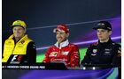 Vettel - Hülkenberg - Verstappen - Formel 1 - GP China - Shanghai - 6.4.2017