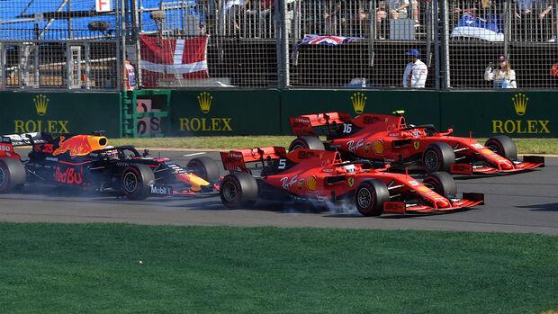 Vettel & Leclerc - Ferrari - GP Australien 2019