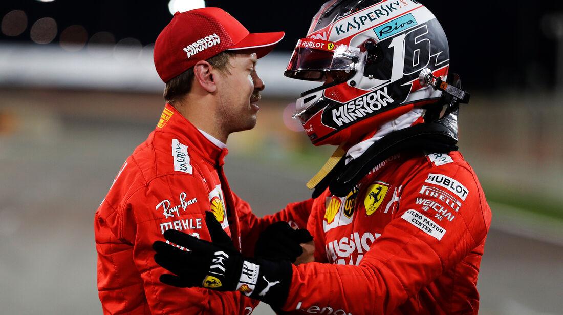 Vettel & Leclerc - Formel 1 - GP Bahrain 2019