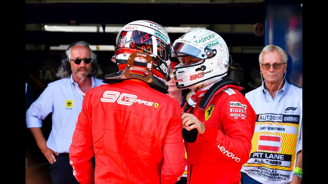 Vettel & Leclerc - Formel 1 - GP Österreich - Spielberg - 30. Juni 2019