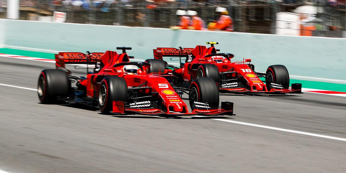 Vettel & Leclerc - Formel 1 - GP Spanien 2019
