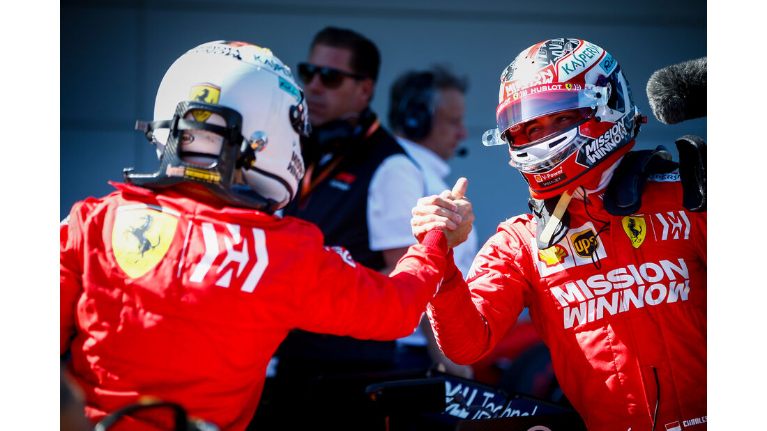 Vettel & Leclerc - GP Japan 2019