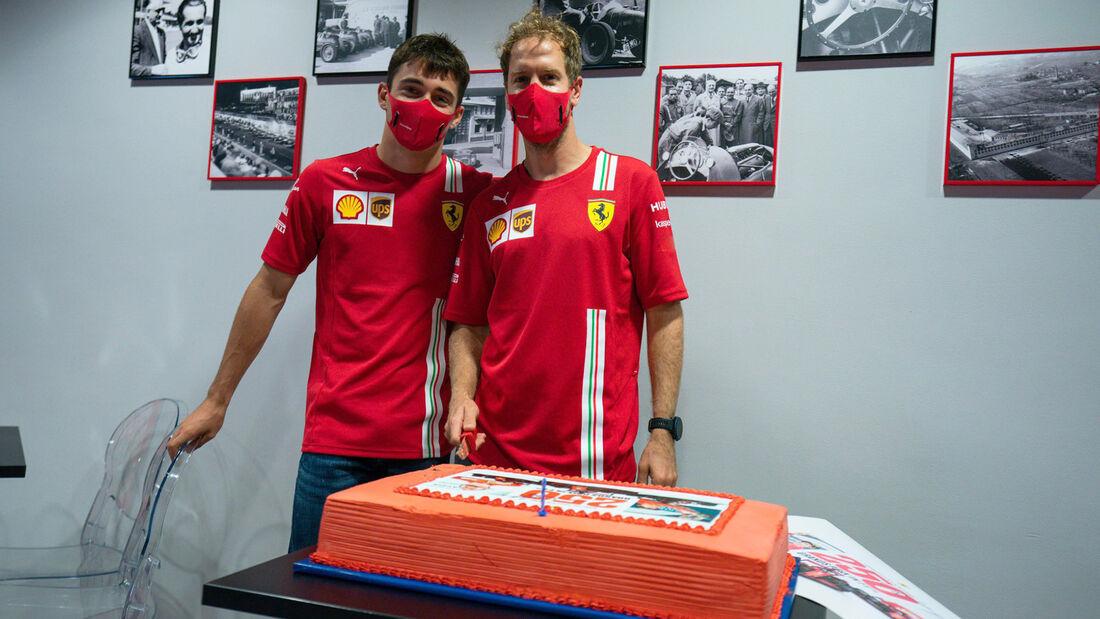Vettel & Leclerc - GP Russland 2020