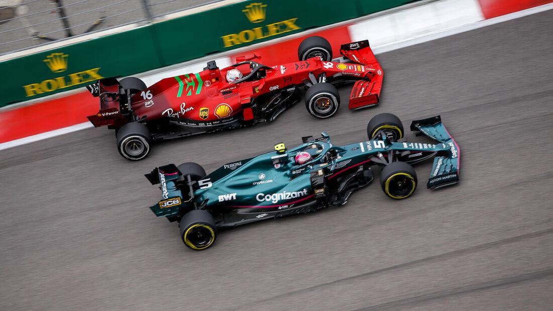 Vettel - Leclerc - GP Russland 2021 - Sotschi