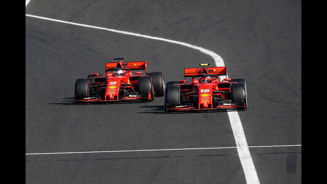 Vettel & Leclerc - GP Ungarn 2019