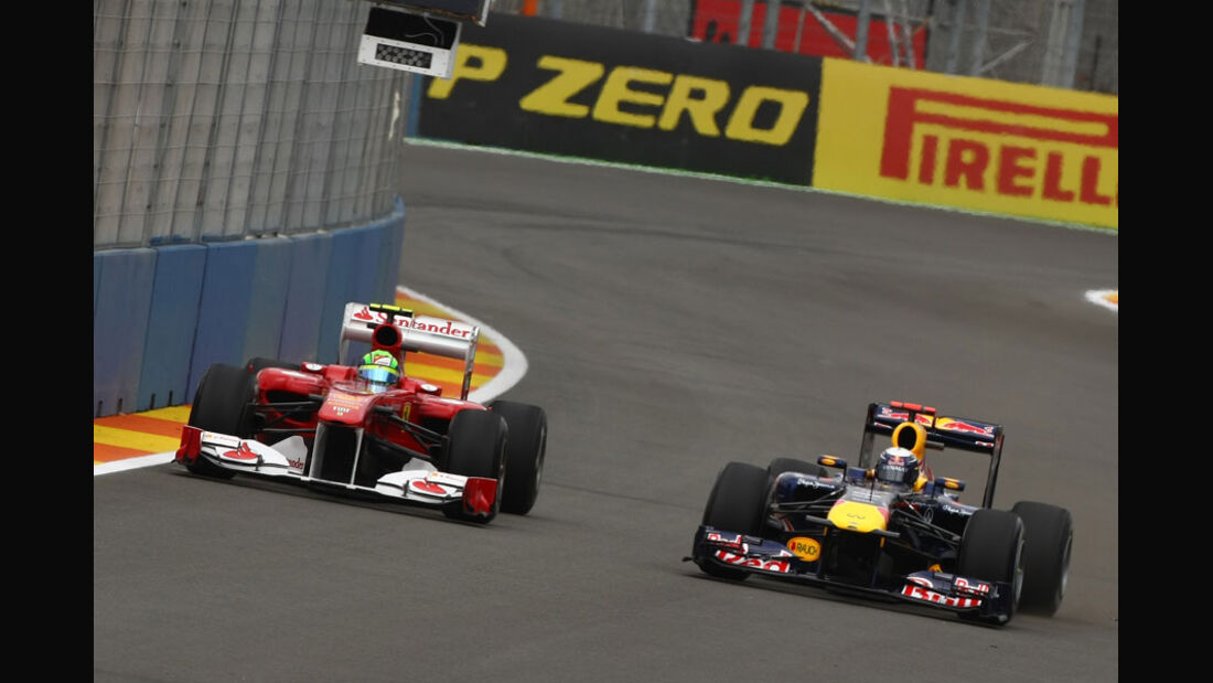 Vettel & Massa - GP Europa Valencia 2011
