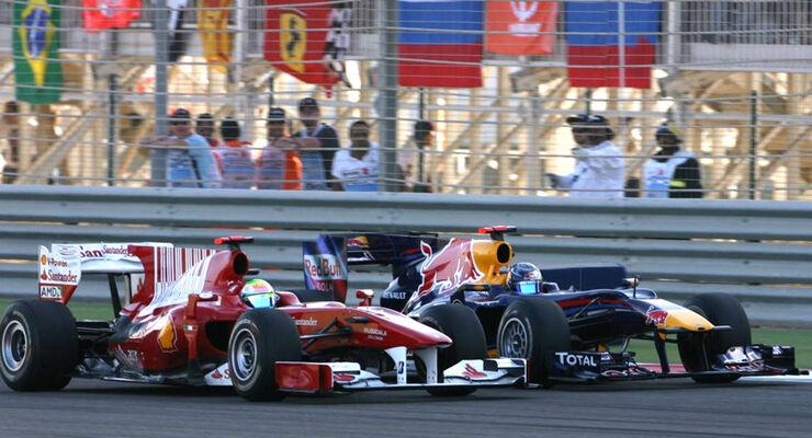 Vettel & Massa
