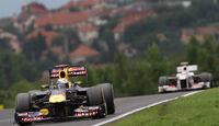 Vettel- Noten - GP Ungarn - Formel 1 - 31.7.2011