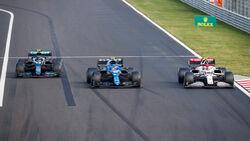 Vettel - Ocon - Giovinazzi - GP Ungarn 2021 - Budapest - Rennen