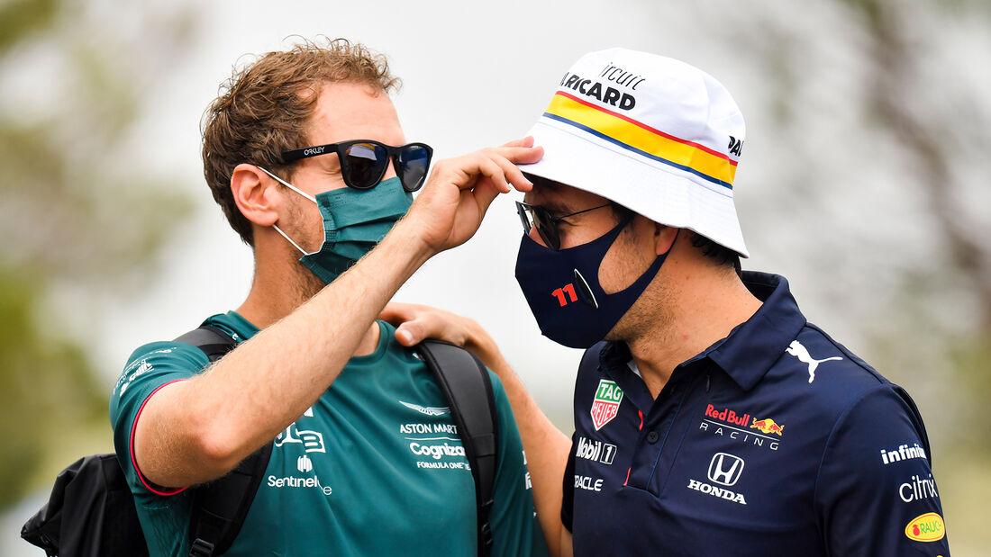 Vettel & Perez - Formel 1 - GP Frankreich 2021