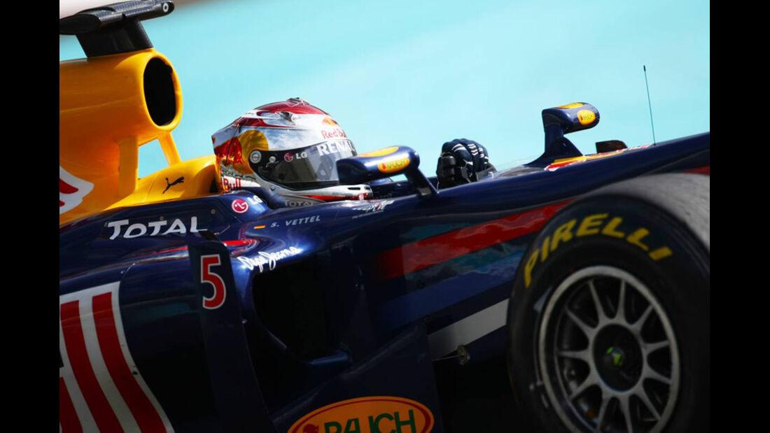 Vettel - Pirelli Test