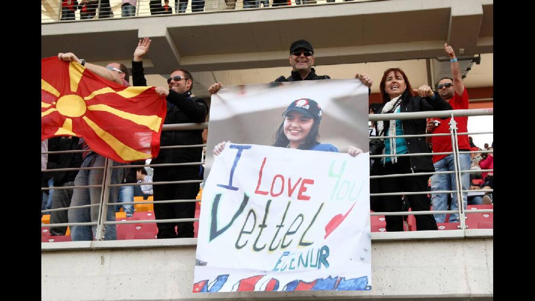 Vettel Plakat GP Türkei 2011