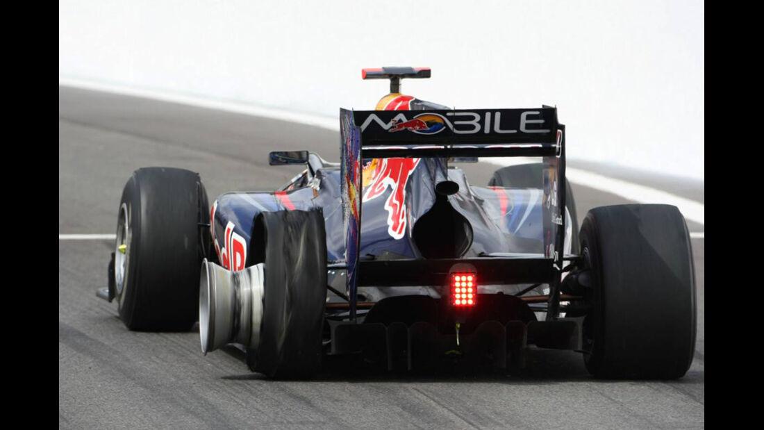 Vettel-Plattfuß