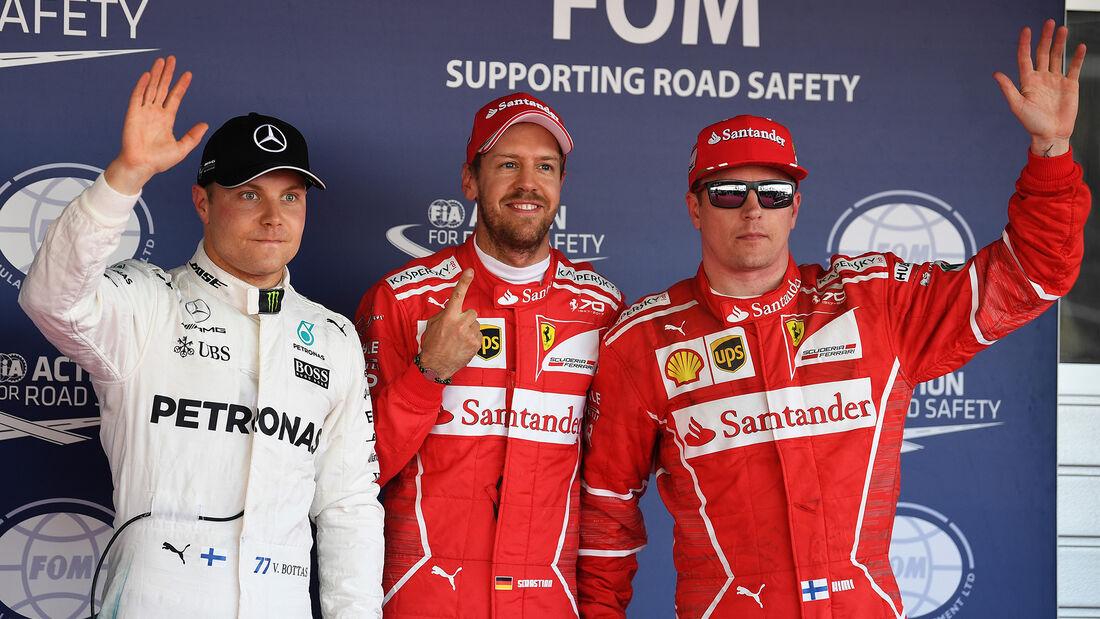 Vettel, Räikkönen & Bottas - GP Russland 2017