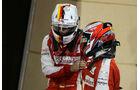 Vettel & Räikkönen - Ferrari - Formel 1 - GP Bahrain - 18. April 2015