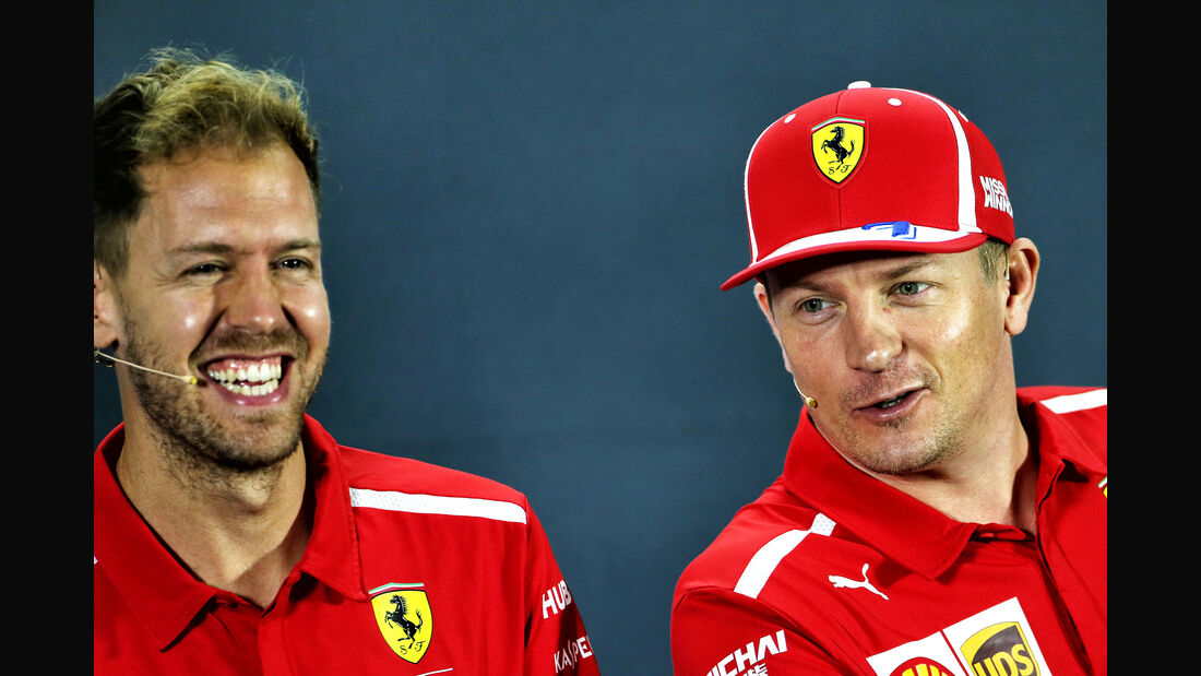 Vettel & Räikkönen - Ferrari - GP Abu Dhabi - Formel 1 - 22. November 2018