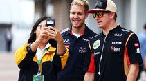 Vettel & Räikkönen - Formel 1 - GP Korea - 5. Oktober 2013