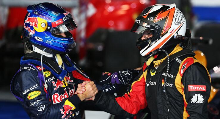 Vettel Räikkönen GP Australien 2013