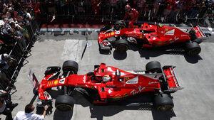 Vettel & Räikkönen - GP Brasilien 2017