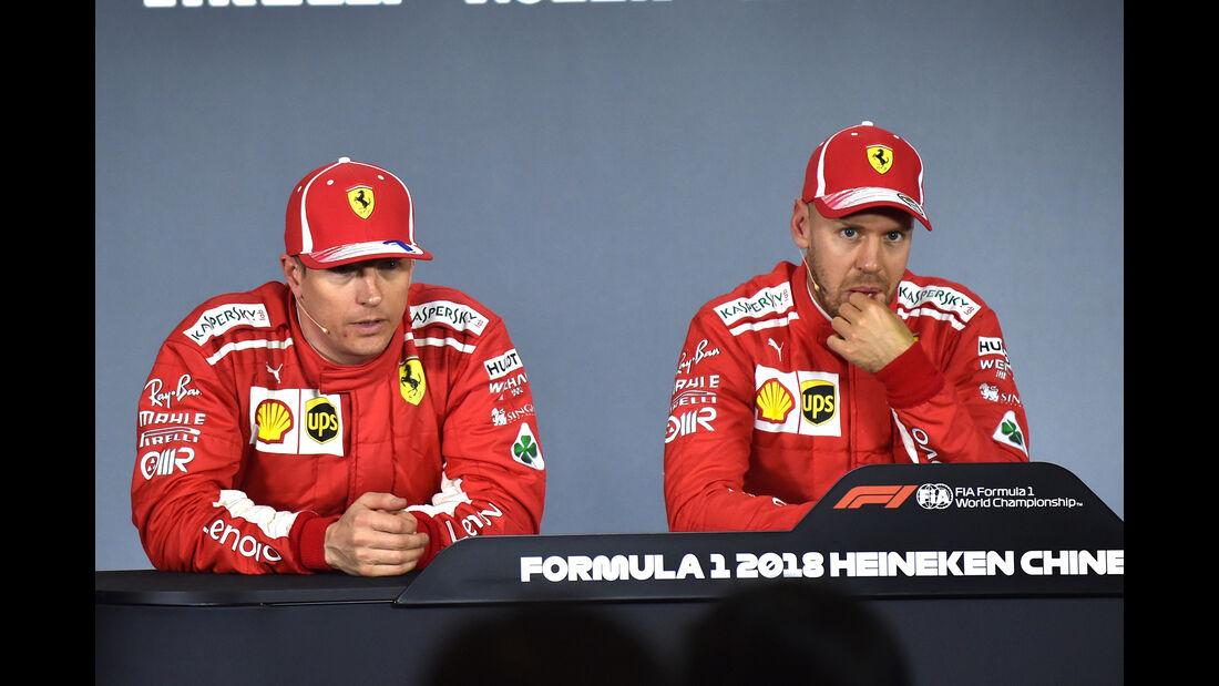 Vettel & Räikkönen - GP China 2018