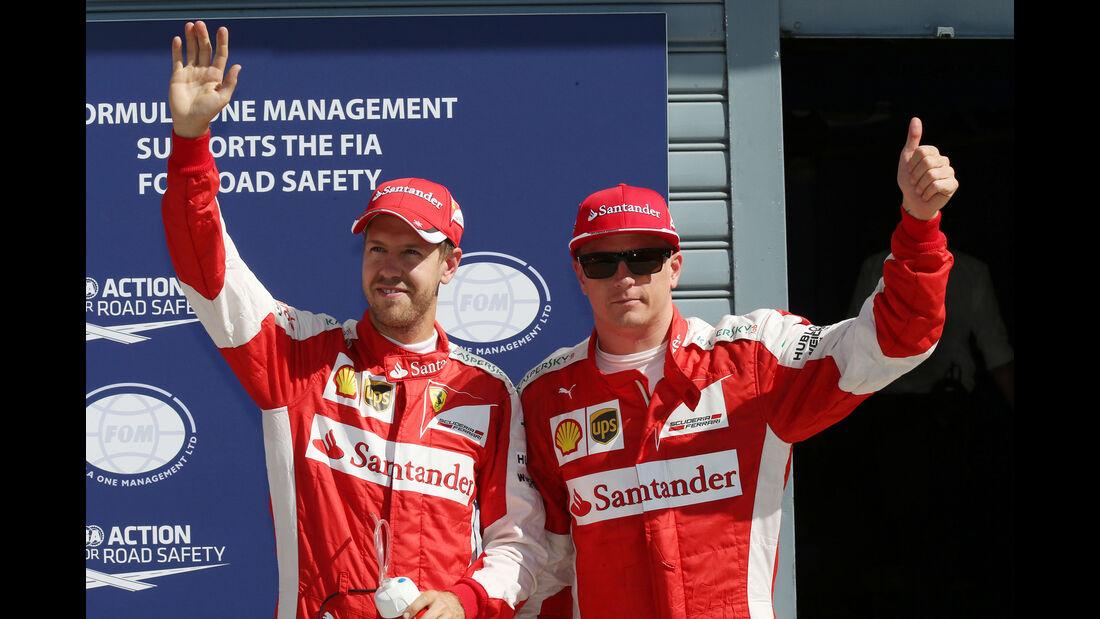 Vettel & Räikkönen - GP Italien 2015