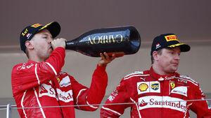 Vettel & Räikkönen - GP Monaco 2017