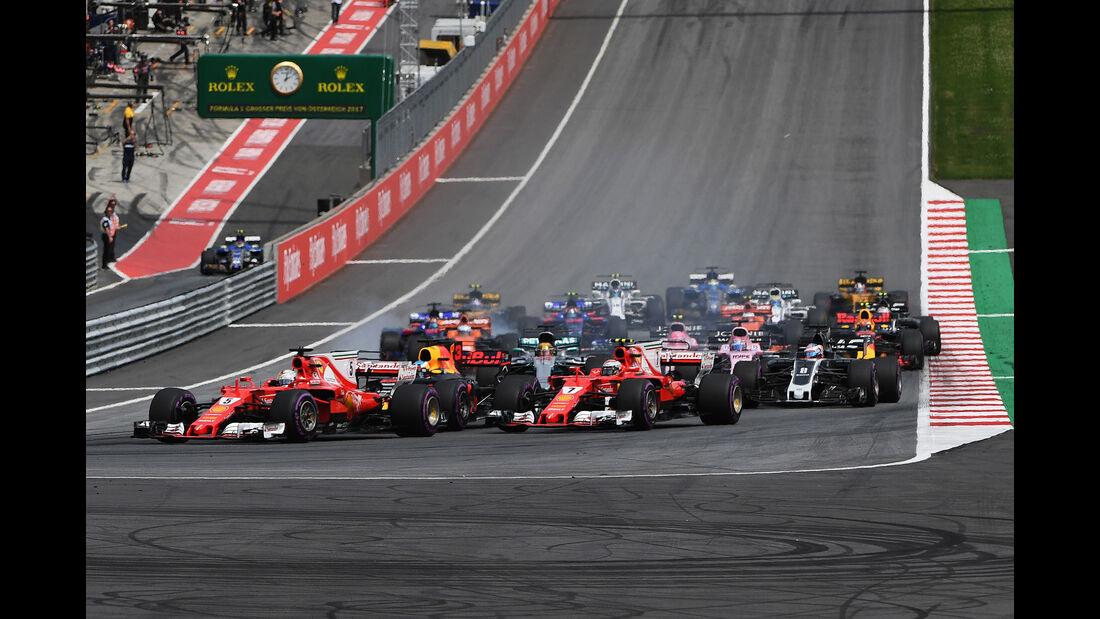 Vettel & Räikkönen - GP Österreich 2017