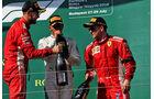Vettel - Räikkönen - GP Ungarn 2018 - Budapest - Rennen