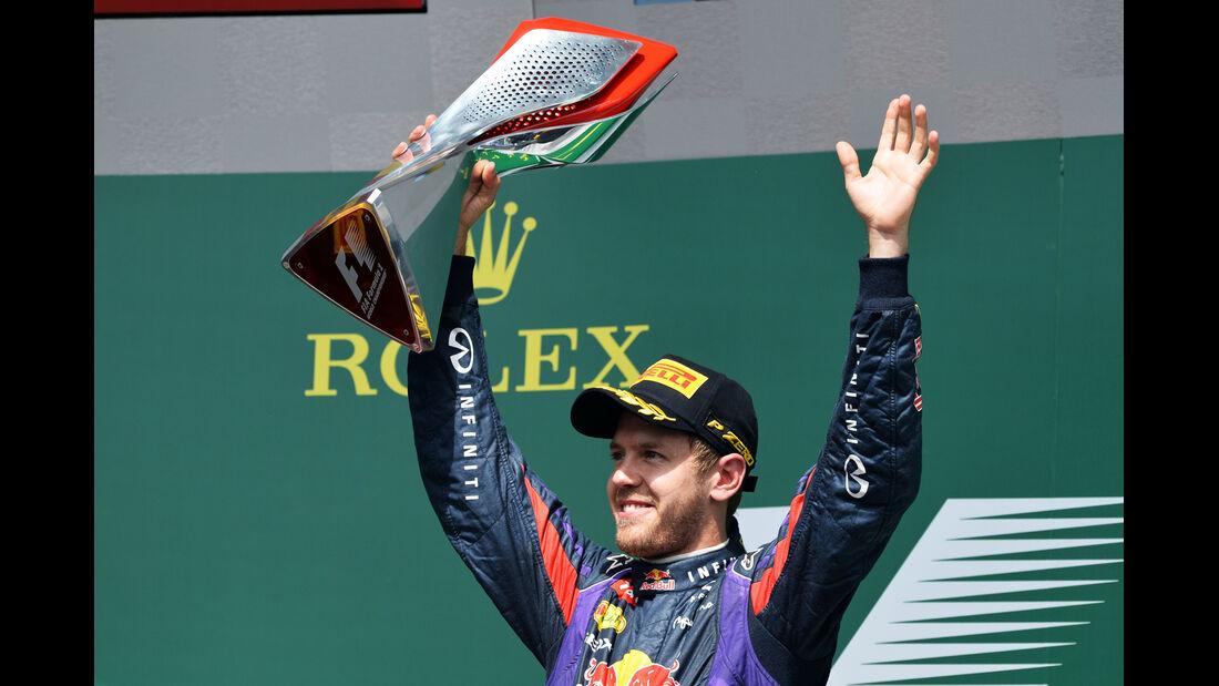 Vettel - Red Bull - GP Kanada 2013