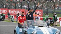 Vettel -Ricciardo - Formel 1 - GP Japan 2016 - Suzuka