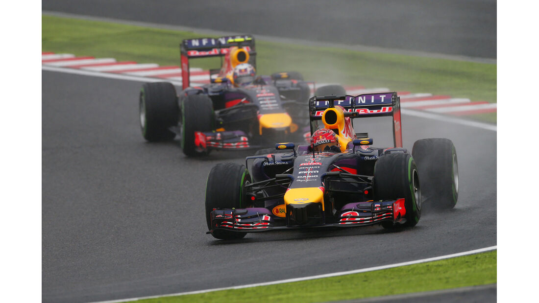 Vettel & Ricciardo - GP Japan 2014