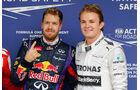 Vettel & Rosberg - GP Brasilien 2013