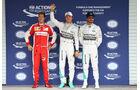 Vettel, Rosberg & Hamilton - Formel 1 - GP Mexiko - 31. Oktober 2015