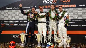 Vettel, Schumacher, Button und Priaulx