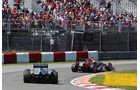 Vettel & Schumacher - Formel 1 - GP Kanada - 10. Juni 2012