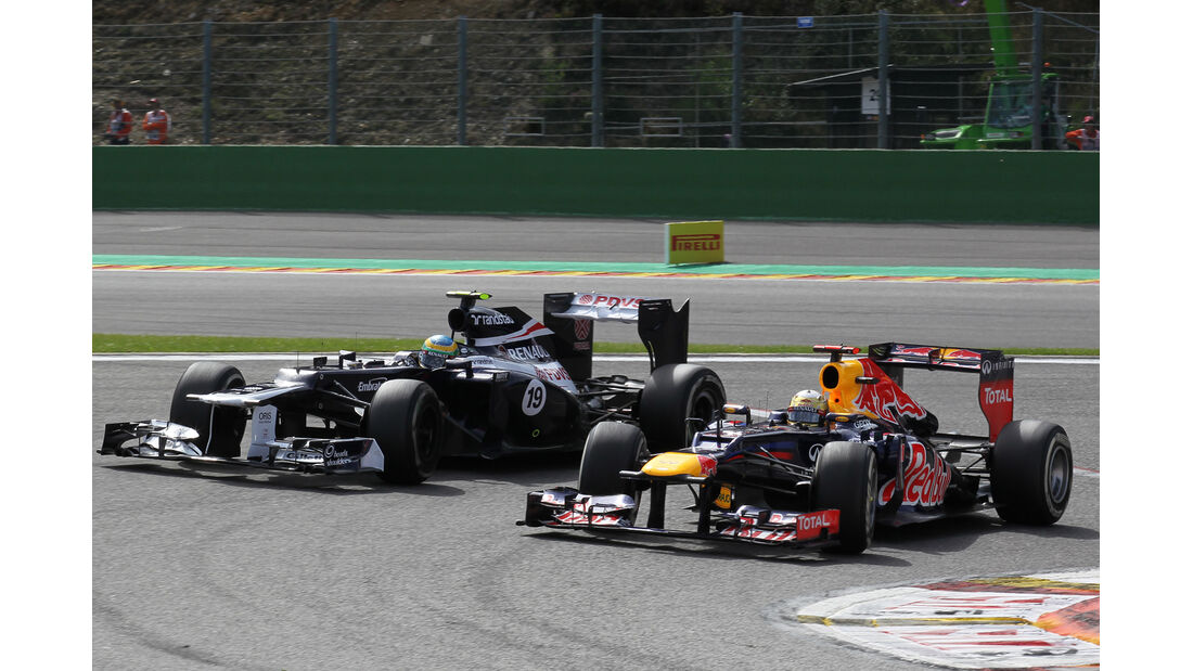 Vettel & Senna - GP Belgien 2012