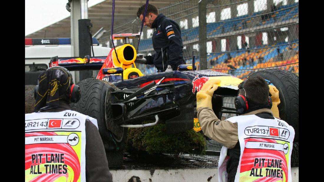 Vettel Unfall GP Türkei 2011