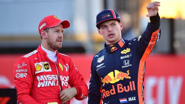 Vettel & Verstappen  - Formel 1 - GP USA - Austin - 2. November 2019