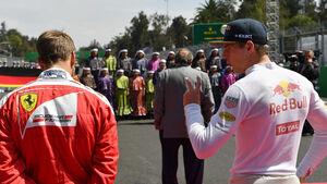 Vettel & Verstappen - GP Mexiko 2016