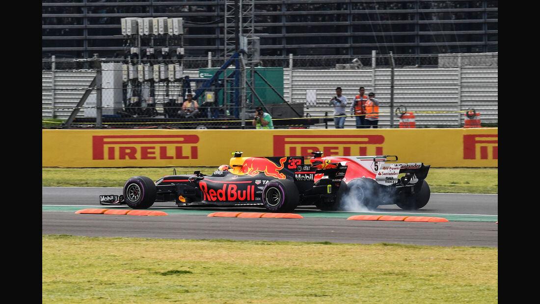 Vettel - Verstappen - GP Mexiko 2017 - Rennen