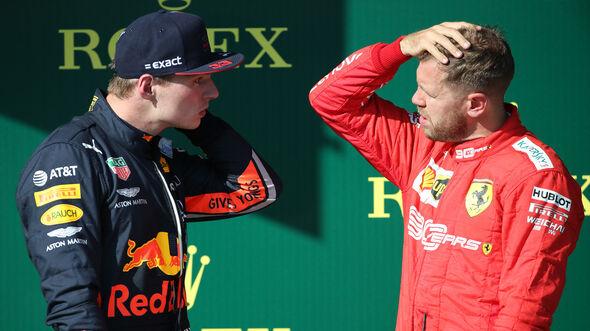 Vettel & Verstappen - GP Ungarn 2019