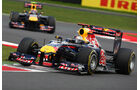 Vettel Webber 2011 GP England