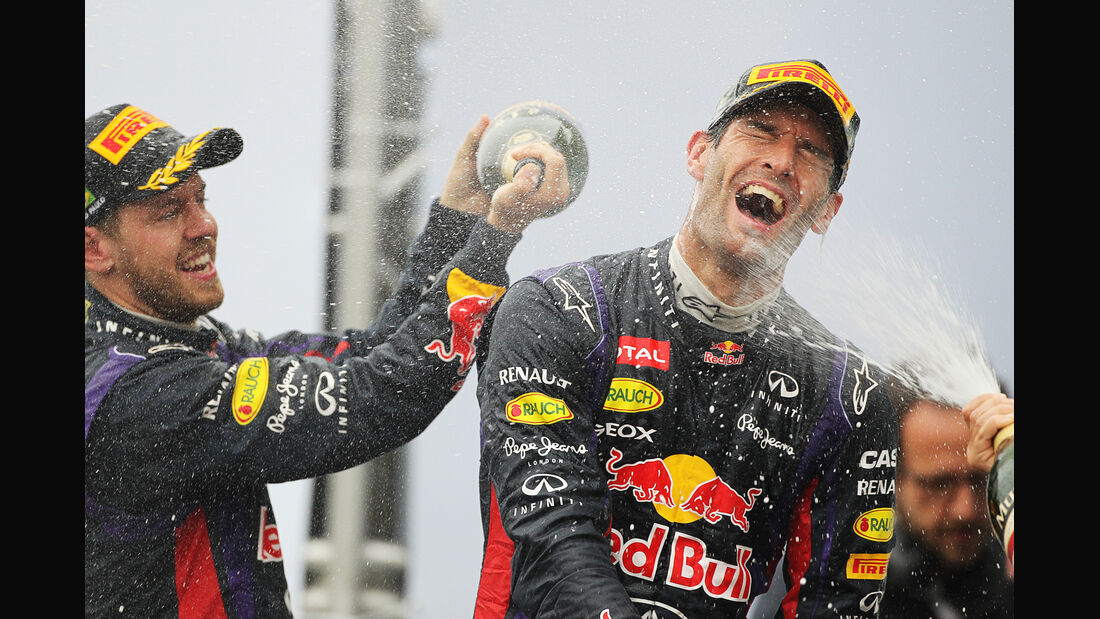 Vettel & Webber - GP Brasilien 2013